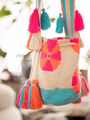 Arte y Tejido, Chorrera, Mochila, Tejida, Knitted, Crochet, Natural Fibers, Algodón, Cotton, Fibras Naturales, Bag, Muri, Mochila Muri