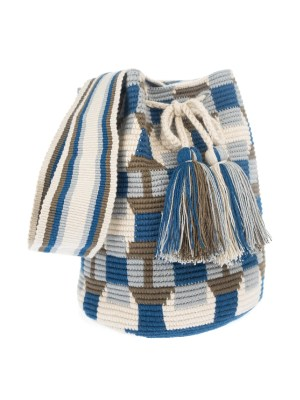 Arte y Tejido, Mochila Nadir, Chorrera, Mochila, Tejida, Knitted, Crochet, Natural Fibers, Algodón, Cotton, Fibras Naturales, Bag, Nadir, Frenesí