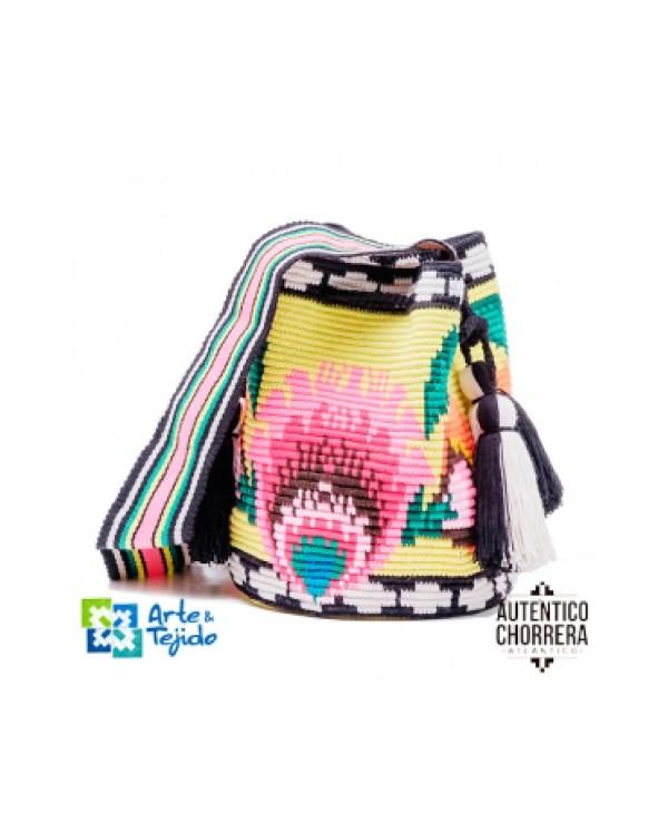 Arte y Tejido, Mochila Nakawe, Chorrera, Mochila, Tejida, Knitted, Crochet, Natural Fibers, Algodón, Cotton, Fibras Naturales, Bag, Nakawe