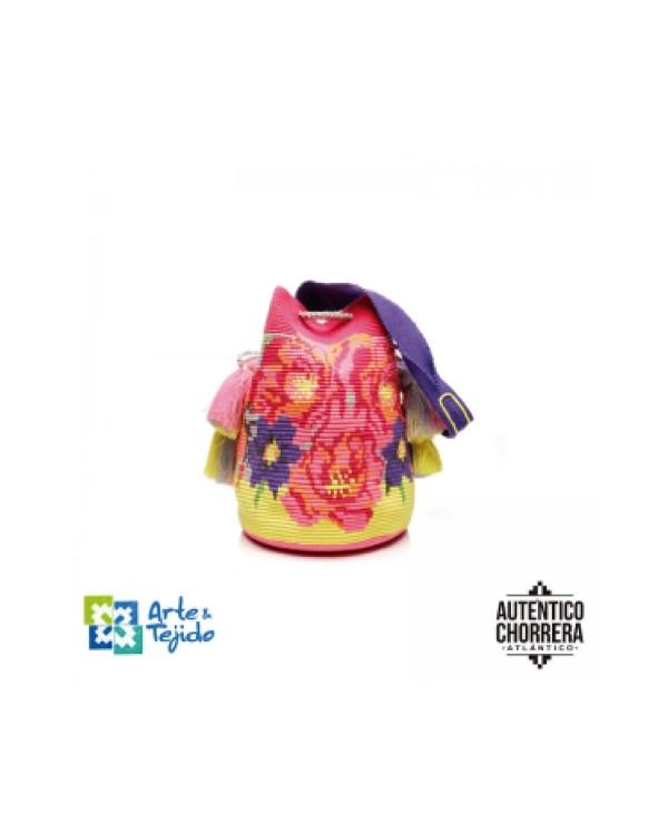 Arte y Tejido, Mochila Nilo, Chorrera, Mochila, Tejida, Knitted, Crochet, Natural Fibers, Algodón, Cotton, Fibras Naturales, Bag, Nilo