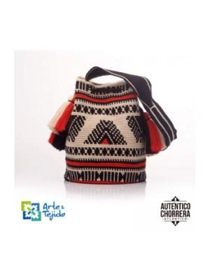 Arte y Tejido, Mochila Osuna, Chorrera, Mochila, Tejida, Knitted, Crochet, Natural Fibers, Algodón, Cotton, Fibras Naturales, Bag, Osuna
