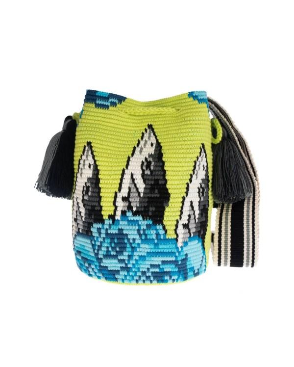 Arte y Tejido, Mochila Phase, Chorrera, Mochila, Tejida, Knitted, Crochet, Natural Fibers, Algodón, Cotton, Fibras Naturales, Bag, Phase
