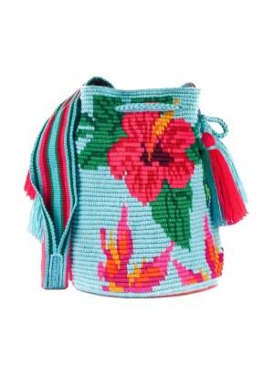 Arte y Tejido, Mochila Pistilo, Chorrera, Mochila, Tejida, Knitted, Crochet, Natural Fibers, Algodón, Cotton, Fibras Naturales, Bag, Pistilo