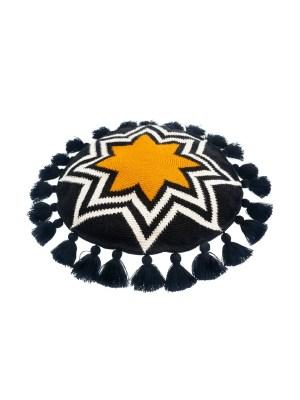 Arte y Tejido, Cojín Pune, Pune Cushion, Chorrera, Cojín, Cushion, Tejido, Knitted, Crochet, Natural Fibers, Algodón, Cotton, Fibras Naturales, Pune