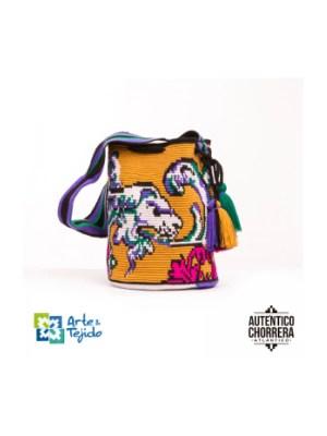 Arte y Tejido, Mochila Reina, Chorrera, Mochila, Tejida, Knitted, Crochet, Natural Fibers, Algodón, Cotton, Fibras Naturales, Bag, Reina