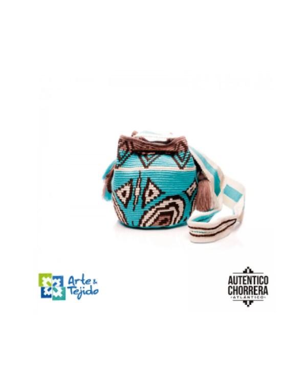 Arte y Tejido, Mochila Sambla, Chorrera, Mochila, Tejida, Knitted, Crochet, Natural Fibers, Algodón, Cotton, Fibras Naturales, Bag, Sambla