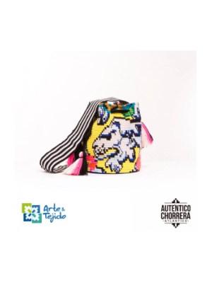 Arte y Tejido, Mochila Sicilia, Chorrera, Mochila, Tejida, Knitted, Crochet, Natural Fibers, Algodón, Cotton, Fibras Naturales, Bag, Sicilia