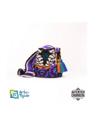 Arte y Tejido, Mochila Sunny, Chorrera, Mochila, Tejida, Knitted, Crochet, Natural Fibers, Algodón, Cotton, Fibras Naturales, Bag, Sunny