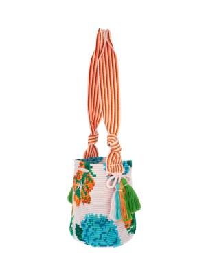 Arte y Tejido, Mochila Treppi, Chorrera, Mochila, Tejida, Knitted, Crochet, Natural Fibers, Algodón, Cotton, Fibras Naturales, Bag, Treppi