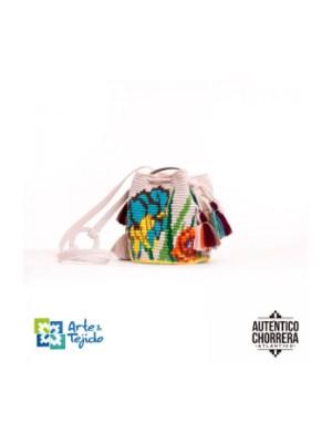 Arte y Tejido, Mochila Trianae, Chorrera, Mochila, Tejida, Knitted, Crochet, Natural Fibers, Algodón, Cotton, Fibras Naturales, Bag, Trianae