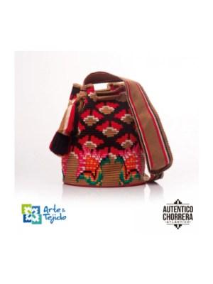 Arte y Tejido, Mochila Tridy, Chorrera, Mochila, Tejida, Knitted, Crochet, Natural Fibers, Algodón, Cotton, Fibras Naturales, Bag, Tridy