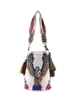Arte y Tejido, Mochila Wanted, Chorrera, Mochila, Tejida, Knitted, Crochet, Natural Fibers, Algodón, Cotton, Fibras Naturales, Bag, Wanted