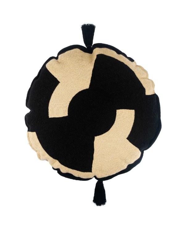 Arte y Tejido, Chorrera, Cojín, Cushion, Tejido, Knitted, Crochet, Natural Fibers, Algodón, Cotton, Fibras Naturales, Watamu, Cojín Watamu, Watamu Cushion