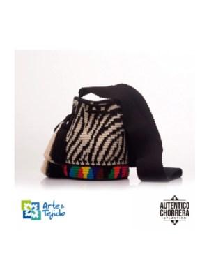 Arte y Tejido, Mochila Wild, Chorrera, Mochila, Tejida, Knitted, Crochet, Natural Fibers, Algodón, Cotton, Fibras Naturales, Bag, Wild