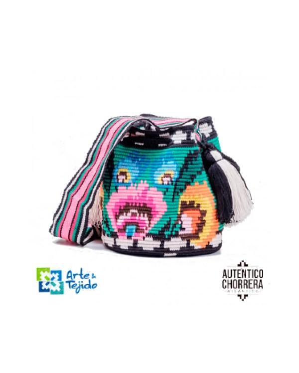 Arte y Tejido, Mochila Yatsi, Chorrera, Mochila, Tejida, Knitted, Crochet, Natural Fibers, Algodón, Cotton, Fibras Naturales, Bag, Yatsi