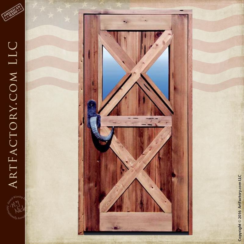 Custom Cross Buck Style Door \u2013 12th Century Chateau Door \u2013 4346RP & handcrafted doors Archives - Page 2 of 2 - ArtFactory.com