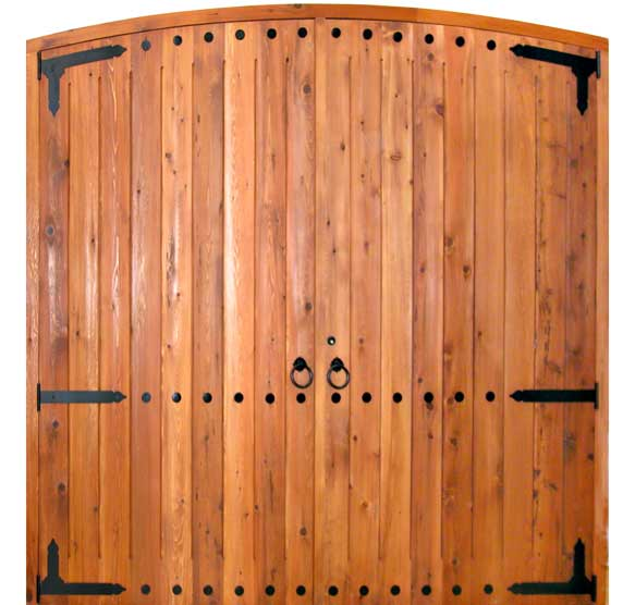 kitchen cabinets door knobs delta sink faucets arched garage doors   solid wood custom ...