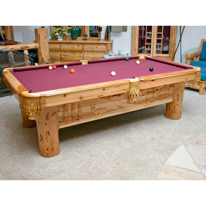 Pool Table American West 1845 Pool Table