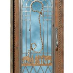 old western style theme door