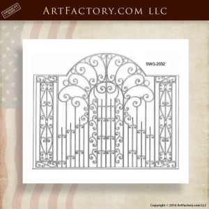 Decorative Estate Security Gates