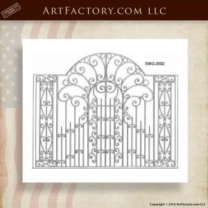 Decorative Estate Security Gates