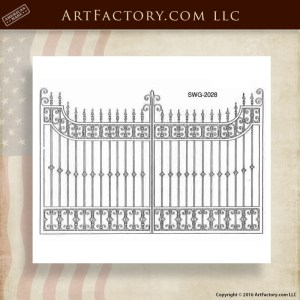 Decorative Iron Gate Designs