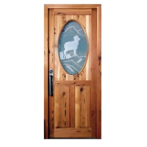 German style custom door