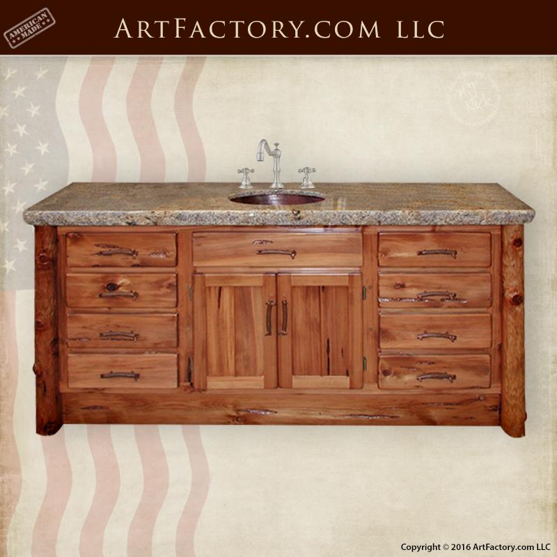 Exotic Wood Vanity