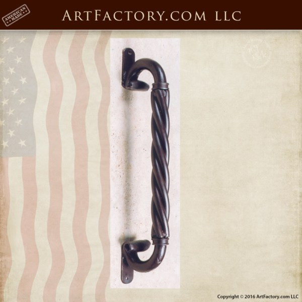 Old World Style Iron Door Pull