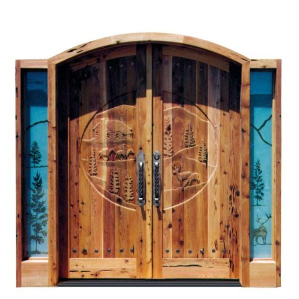 nature themed doors
