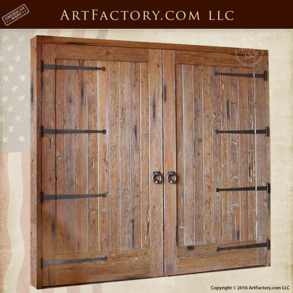 Solid Wood Barn Garage Doors