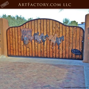 Western Style Security Gate
