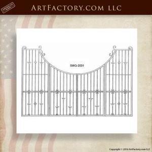 Wrought Iron Custom Gate