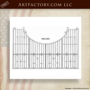 Wrought Iron Custom Gate