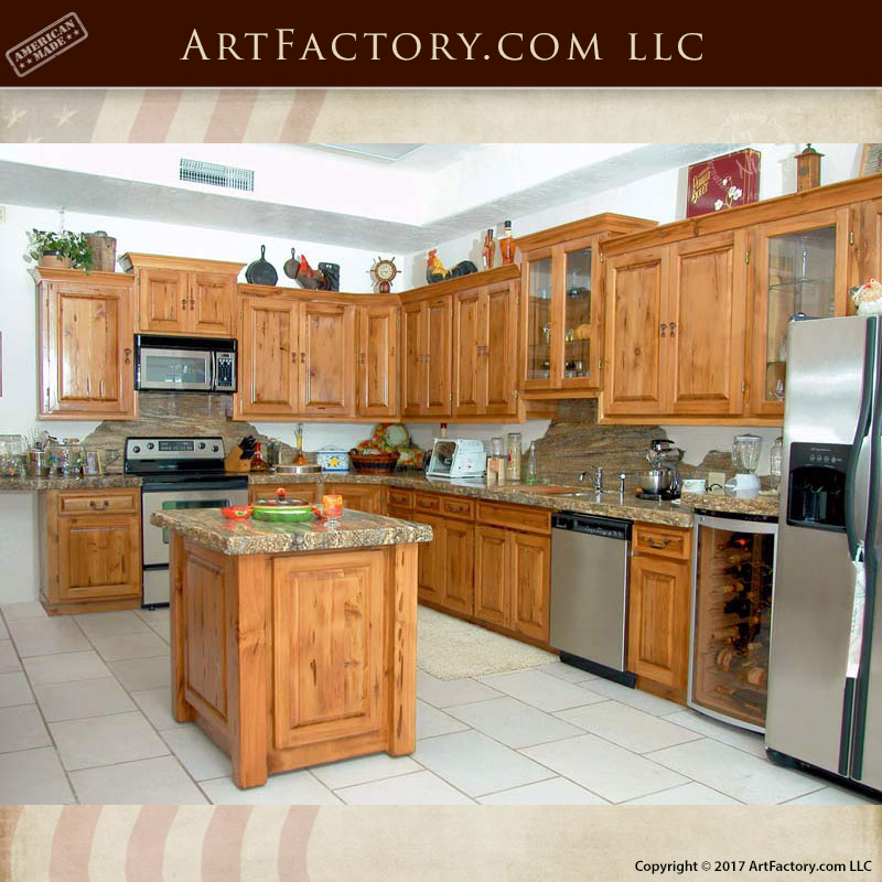 Solid Wood Kitchen Cabinets Made In Usa: Custom Kitchen Cabinets: Dream Islands, Granite Countertops
