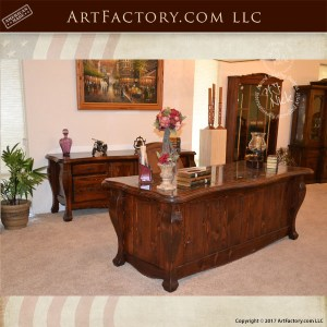 French Baroque Desk