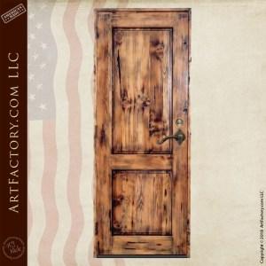 traditional 2 panel door