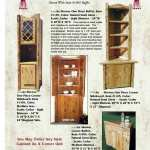 Corner Hutch Corner Display Cabinet