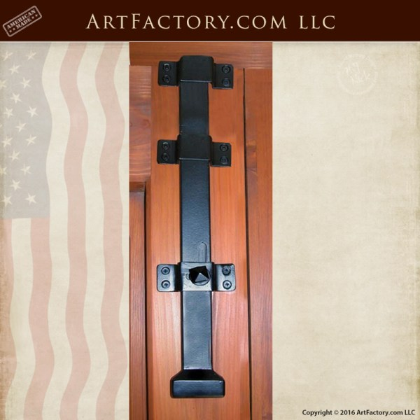Iron Security Slide Latch