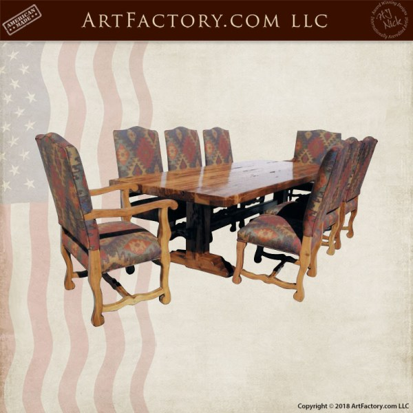 fine art castle dining table