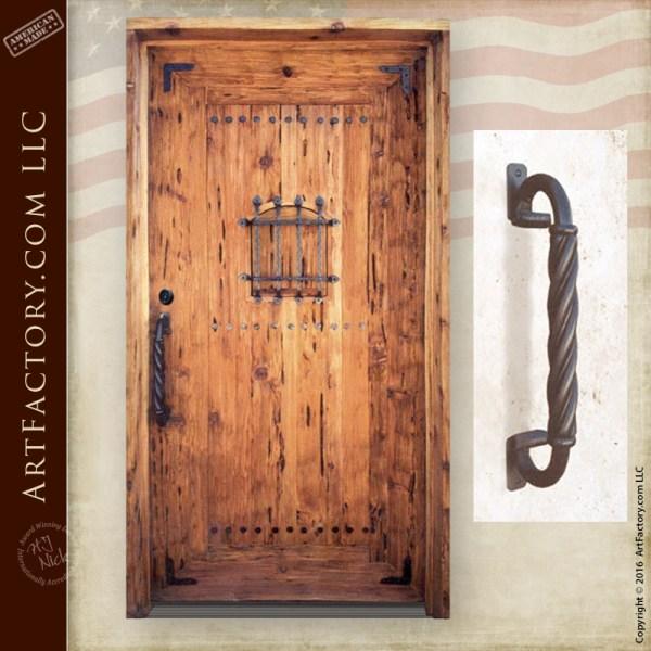 Italian Fortress Entry Door