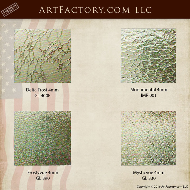 decorative glass choices