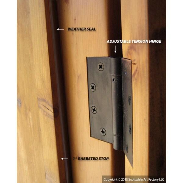 interior door hinge
