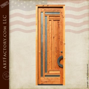 modern craftsman door