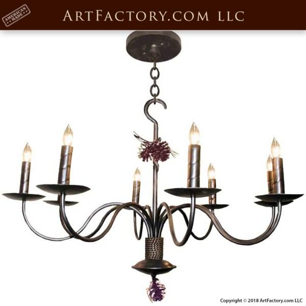 Elegant French Lodge Lighting