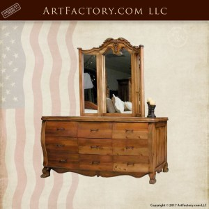 French style hand carved dresser