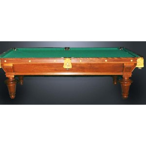 Pool Table Designs From The Historical Record