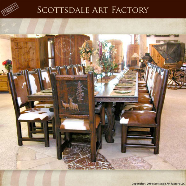 Dining Table Lodge Style