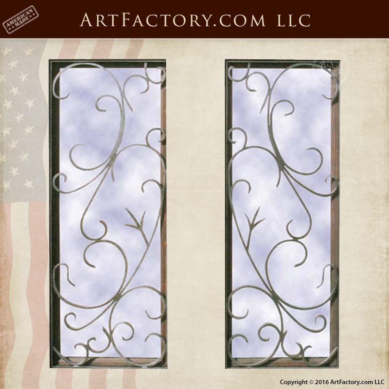 Fine Art Custom Security Grill