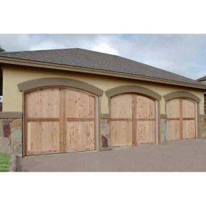 Garage Doors Matched To Entry Doors